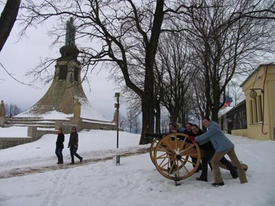 Czech Republic - Austerlitz - The Peace Monument the Battle of Three Emperors in 1805 ...
