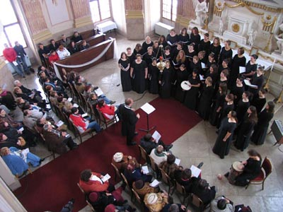 Concert Nr 7 - the last concert of the tour in Slavkov Chateau Chapel