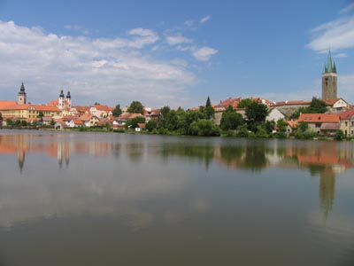 The town of Telc - UNESCO Heritage Site
