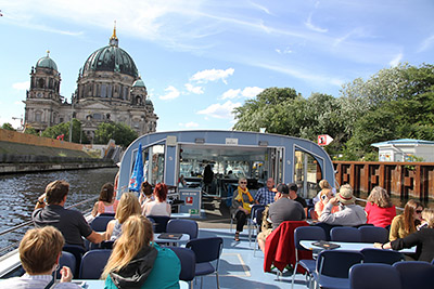 Berlin - cruise on the river Spree