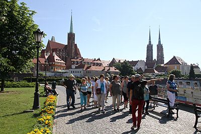 Guided tour of Wroclaw