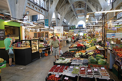 Wroclaw - inside the Market Hall