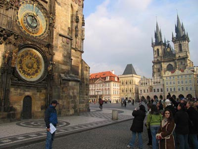 Prague - Old Town Hall Astronomical Clock