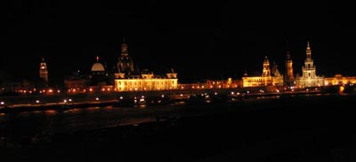 Dresden prior to concert