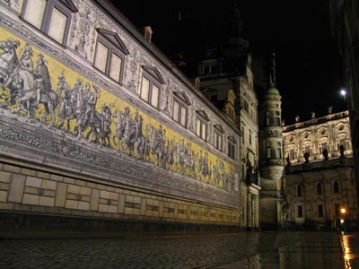 The city of Dresden after the concert
