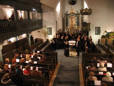 Concert Nr: 4 at St. Ägidius church in Burghaslach