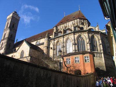 Bamberg - The Upper Parish of the Church of Our Lady