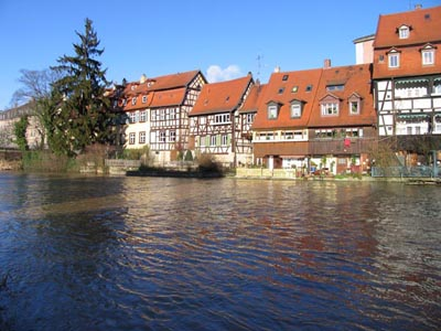 Bamberg - The fishermen´s quarter (Little Venice)