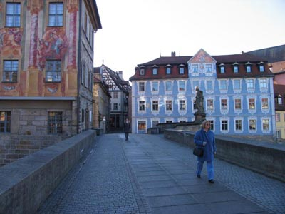 Bamberg - On the bridge to the Old Bishops´ Town