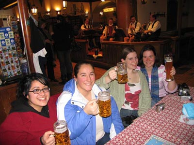 Bavarian beer tastes good !